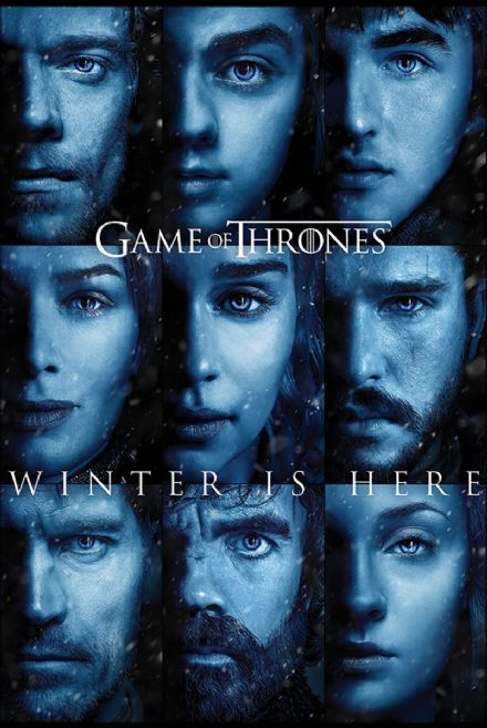 Game Of Thrones Winter is Here 61x91,5cm Movie Poster
